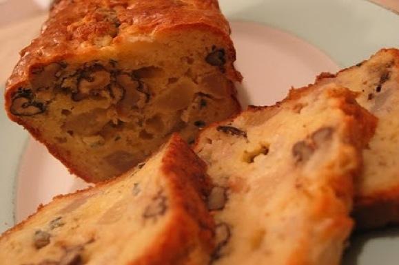Cake poires et roquefort