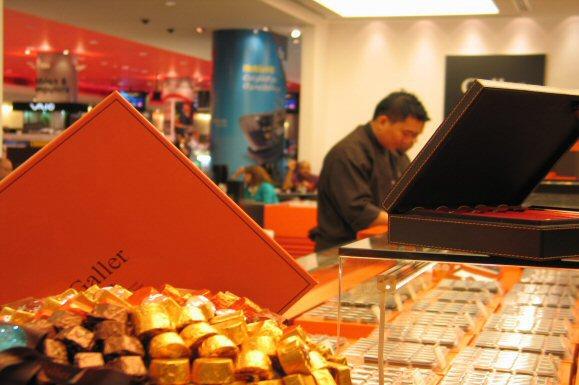 Chocolat ou thé au Mall of Emirates