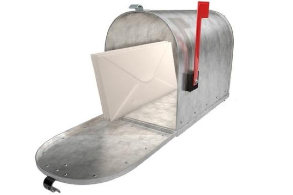 Une boîte aux lettres à Dubai