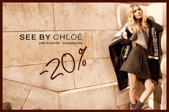 Offre exceptionnelle See by Chloé