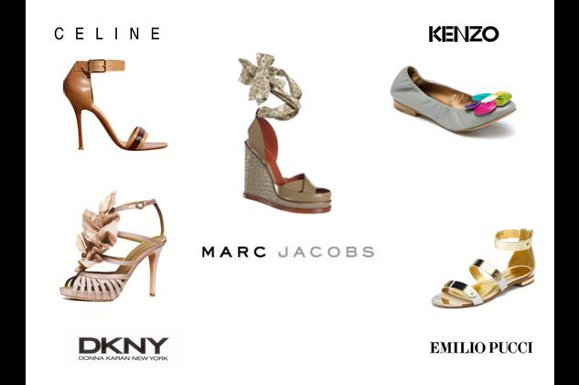 Collection de chaussures Printemps/Été 2011 à Dubai