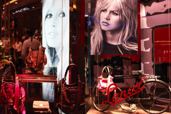 Lancement de la collection Brigitte Bardot par Lancel