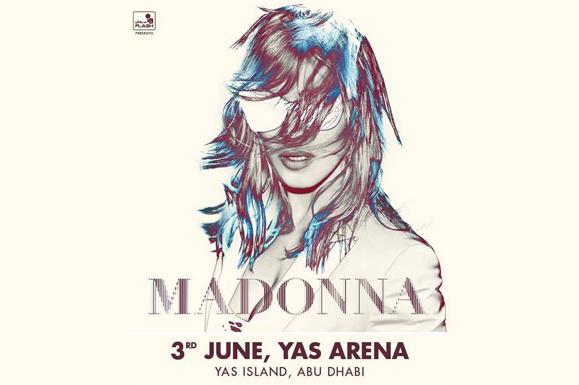 Madonna aux Emirats