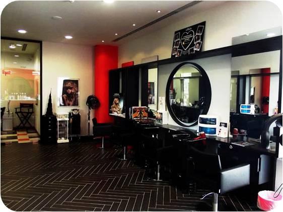 VOG Salon de beaute frange coiffeur dubai