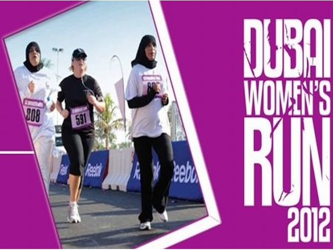 Women fun run