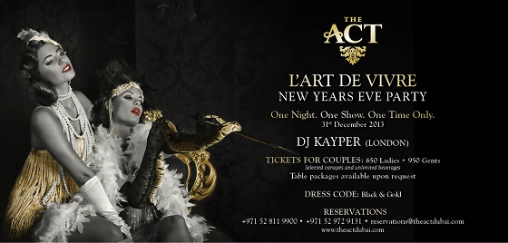 The act Dubai New year