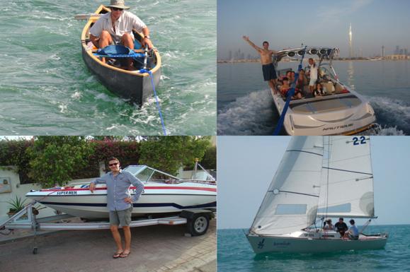 Un homme, un bateau