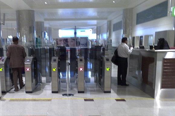 La E-gate : coupe-file à l'aéroport de Dubai