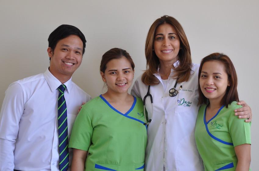 The French Clinic , le centre médical français, la référence en matière de soins apportés aux Français et francophones de Dubai fête ses 14 ans!