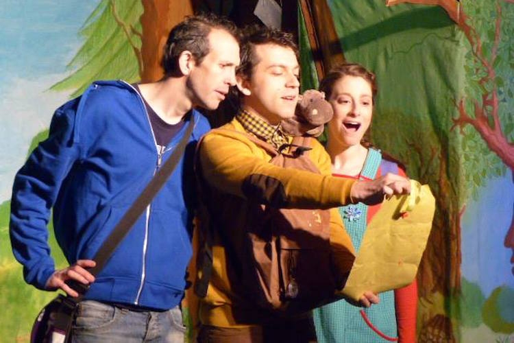 Spectacle pour enfants « Once upon a time… or two » !
