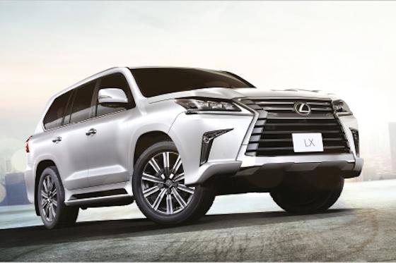 Al-Futtaim Motors lance une vaste opération commerciale sur les modèles SUV Lexus!