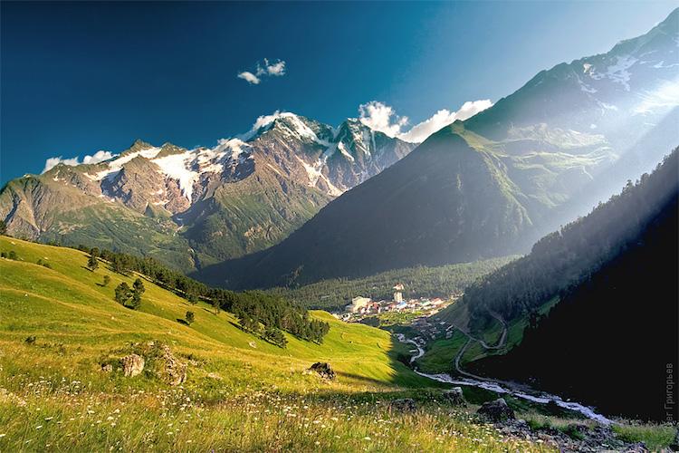 Tbilissi-Mont elbrus