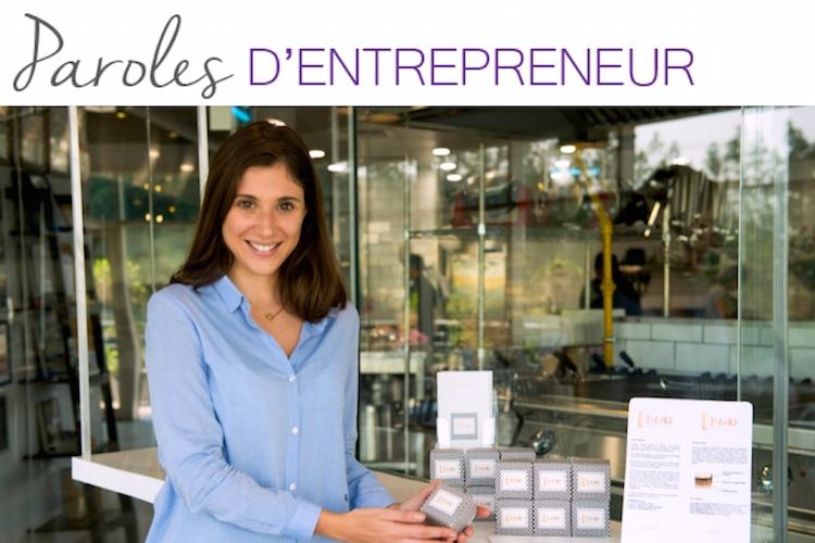 Paroles d'entrepreneur : la parole à… Justine Dampt !