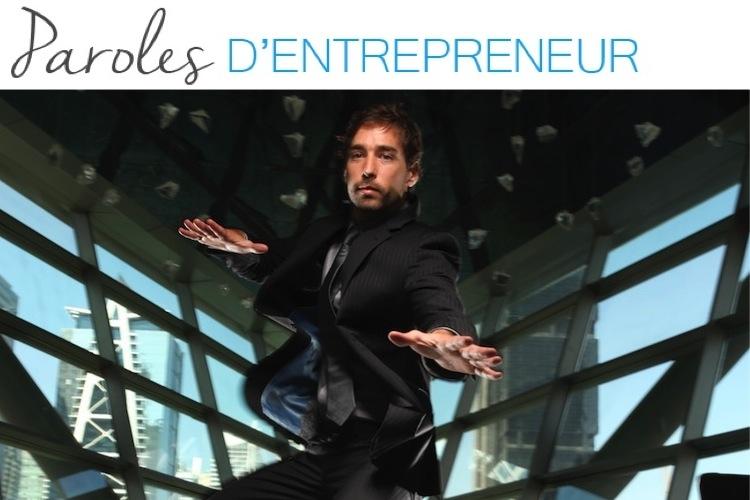Paroles d'entrepreneur : la parole à… Jeremy Amalric !