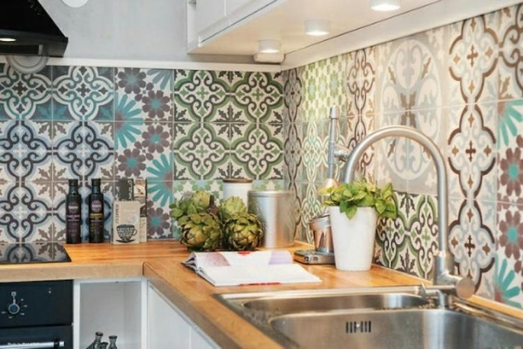 Idée déco : succombez au carrelage décoratif dans votre cuisine !