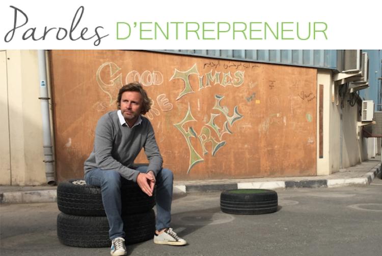 Paroles d'entrepreneur : la parole à… Emmanuel Catteau !