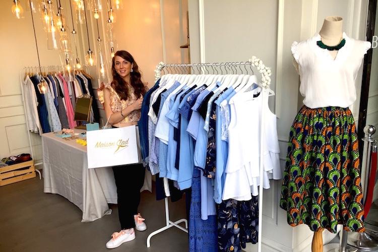 Découvrez la nouvelle collection Maison Clad lors d'un » Fashion tea » so Frenchy !