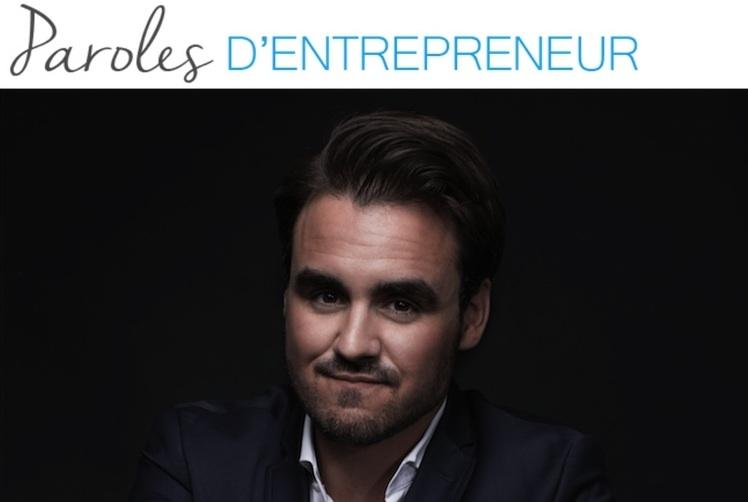 Paroles d'entrepreneur : la parole à… Louis-Félix Communeau !