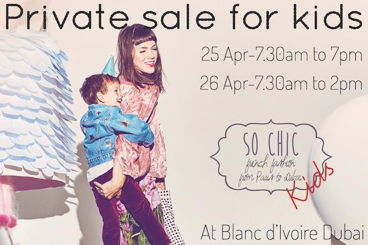 Vide dressing pour enfants : la vente So Chic Kids revient !