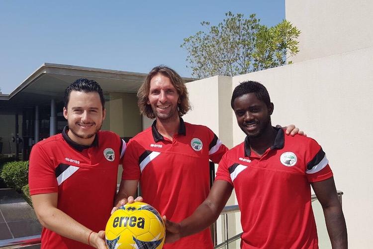 Les Dubai International Falcons, une équipe de football francophone à Dubai !