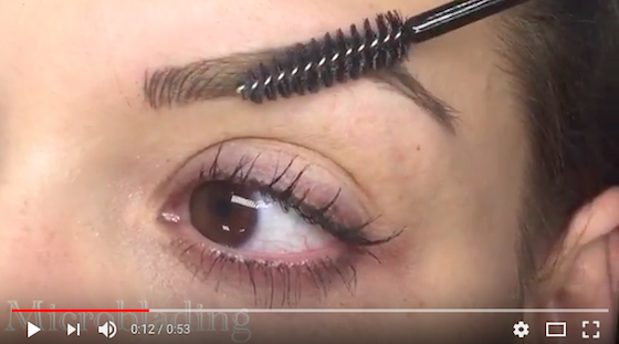 Microblading roots