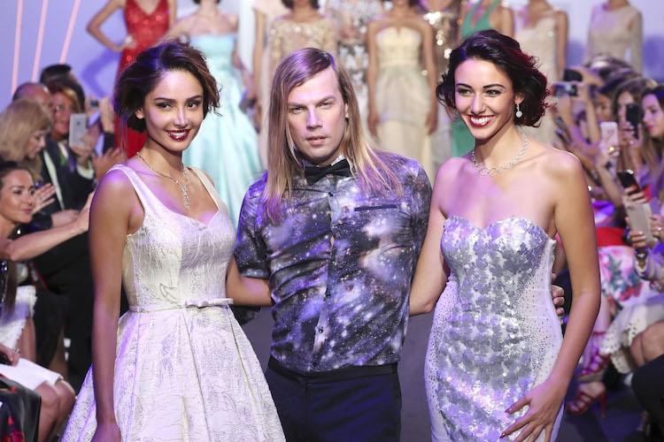 Christophe Guillarmé, créateur de mode français hors norme défile à Dubai !