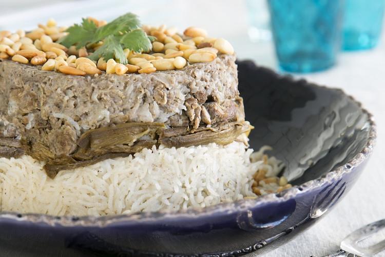 Recette de Ramadan : agneau riz-aubergines (maghlobat badenjan) !