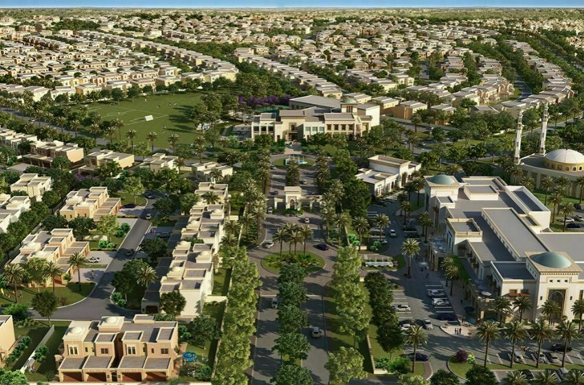 Le quartier de ARABIAN RANCHES