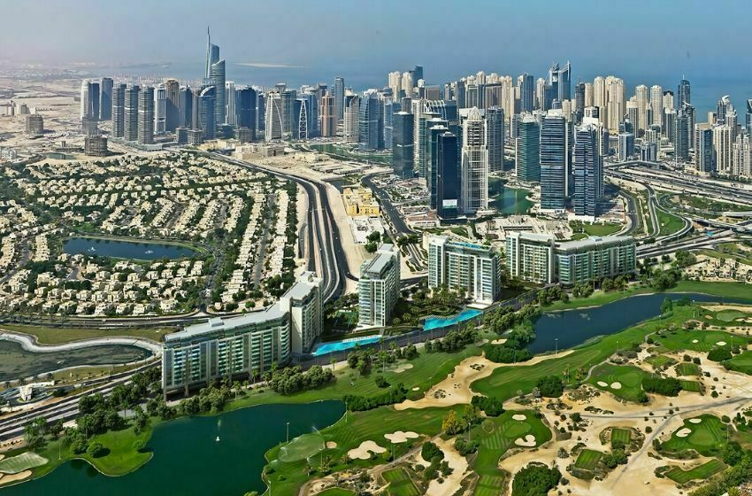 Les quartiers de SPRINGS, MEADOWS, THE LAKES et EMIRATES HILLS