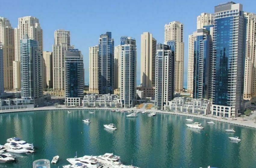 Le quartier de DUBAI MARINA