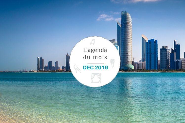 Agenda du mois de décembre 2019 – Abu Dhabi !