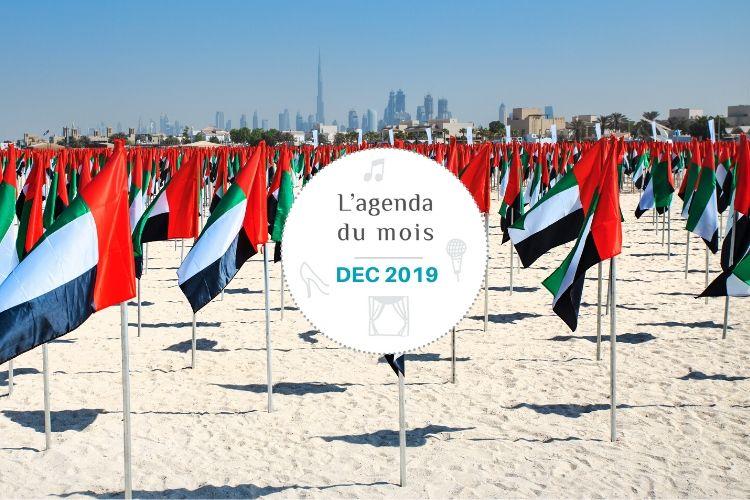 Agenda du mois de décembre 2019 – Dubai