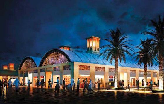 Le plus grand marché nocturne au monde Dubai-Deira