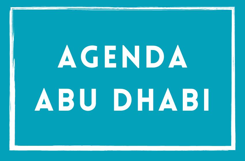 Agenda du mois de février 2020 – Abu Dhabi