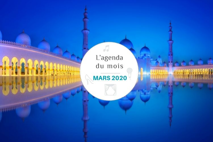 Agenda du mois de mars 2020 – Abu Dhabi