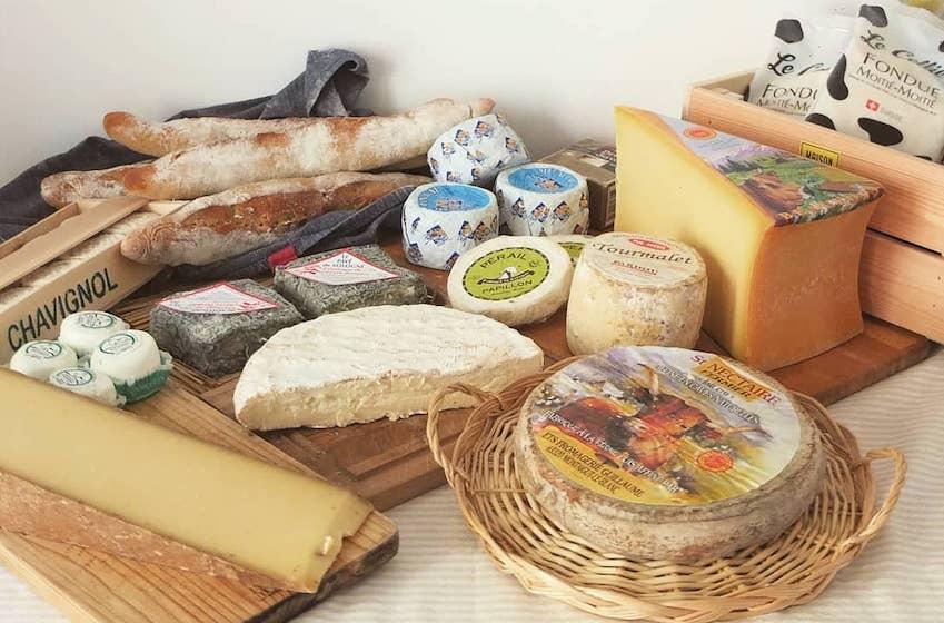 Plateau de fromage francais