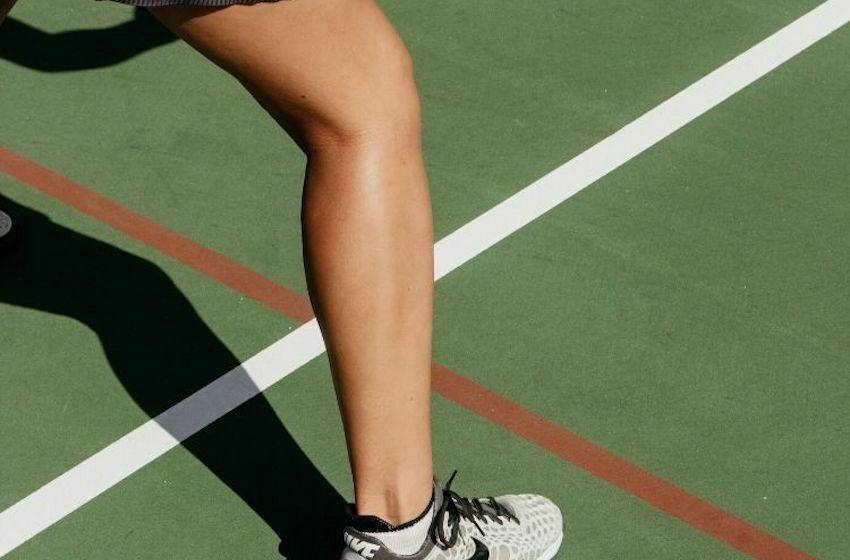 Tennis entorse du genoux
