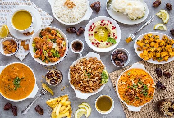 Iftar Ibn Albahr club vista mare Palm Jumeirah