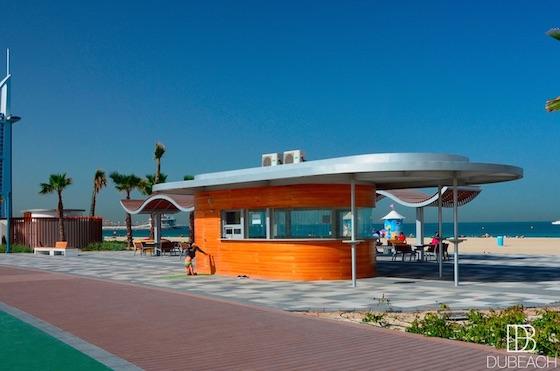 Kiosk Sunset beach
