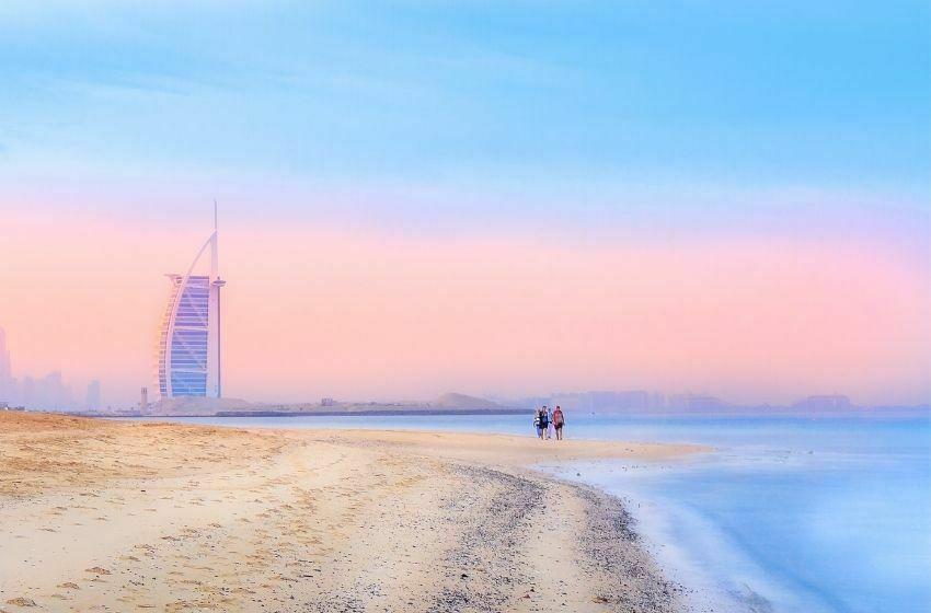 Plage dubai Burj Al Arab dubai