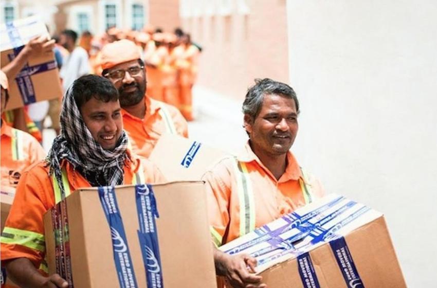 Workers dubai