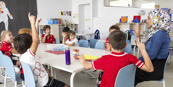Classroom Swiss school of dubai