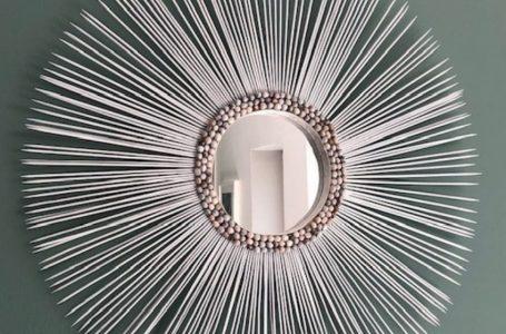Atelier création/deco : fabriquez votre miroir soleil avec deux expertes !