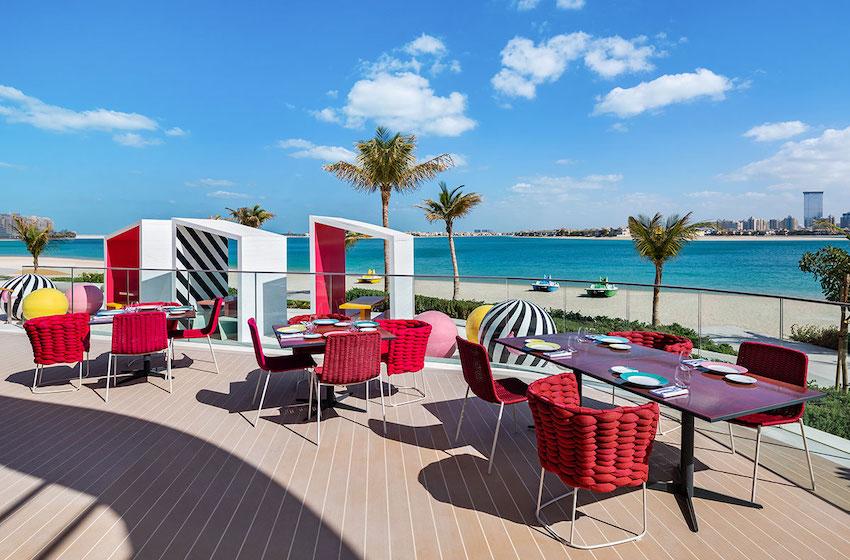 Notre sélection de restaurants sur la plage à Dubai !