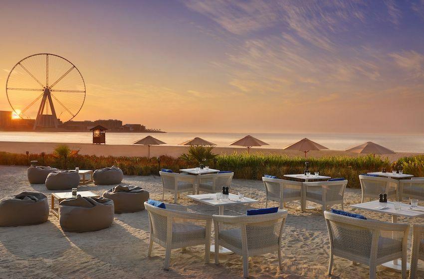Les restaurants raffinés, romantiques sur la plage !