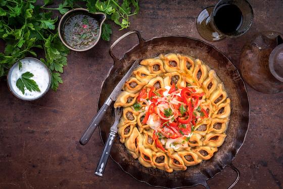 traditional Armenian meal