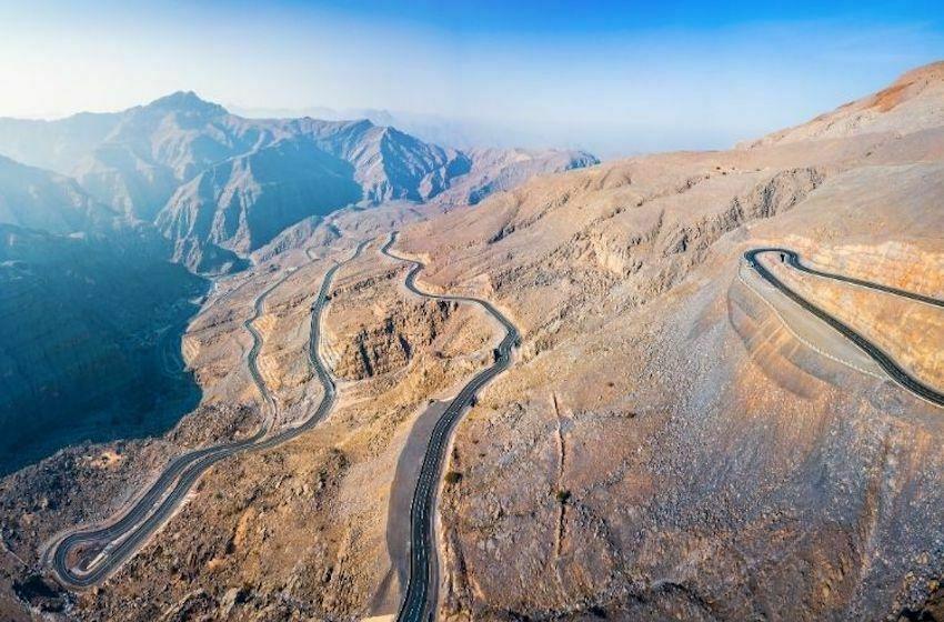 Route de montagne Ras Al Khaimah