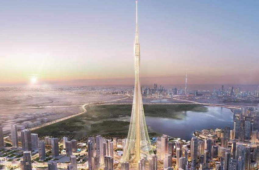 Dubai architecture 2021