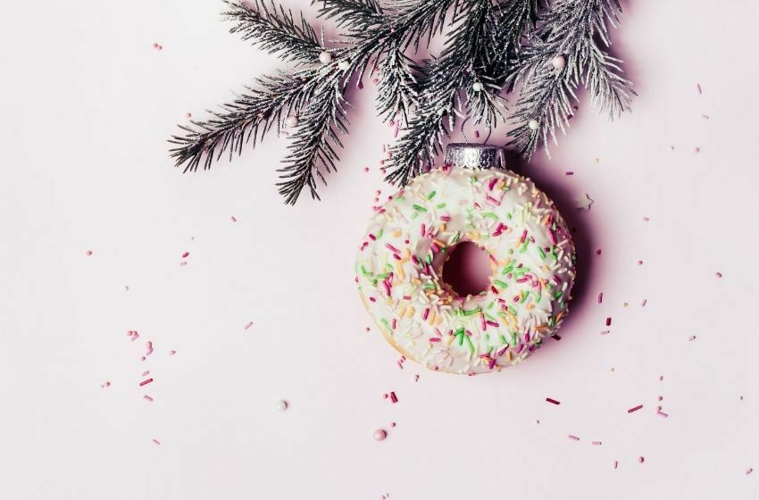 Donut festif