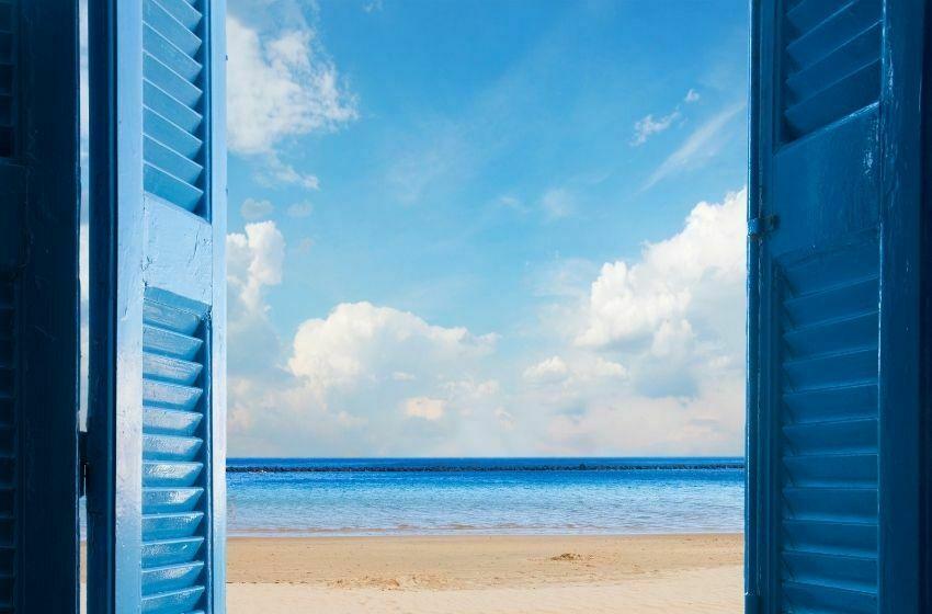 Fenêtre sur le paysage